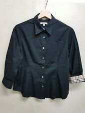BURBERRY CAMICIA DONNA VINTAGE SHIRT  BLUSE BURBERRY GIRL VINTAGE 100%COTTON