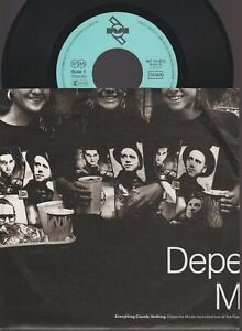 """Depeche Mode Everything Counts / Nothing 45T 7"""" Inch 45 Tours SP Germany"""