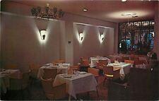 Chattanooga TN~Suburban Room in Restaurant Village~Hotel Patten~1950s~Postcard