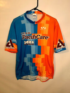 Vintage 2004 Voler Team Pacificare Cycling Jersey Mens 2XL Diabetes Fundraiser