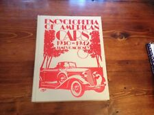 ENCYCLOPEDIA OF AMERICAN CARS 1930-1942 - JAMES H. MOLONEY