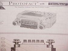 1968 MERCURY COUGAR XR7 PARKLANE MONTEREY CONVERTIBLE AM-FM RADIO SERVICE MANUAL