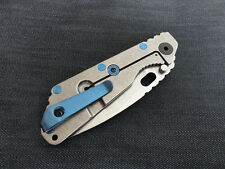 Blue Titanium Deep Carry Pocket Clip for Strider PT Strider SNG Strider SMF