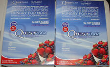 QUESTBAR Mixed Berry Bliss Flavor PROTEIN BAR 24 bars EXP: 08/01/18 quest bar