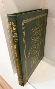 Leather Book Oresteia Aeschylus Eason Press Collectors Sp Ed New Greek Trilogy