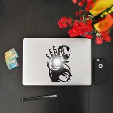 Adesivo Iron Man Replica per Macbook Notebook e Pc Portatile - Sticker in Vinile