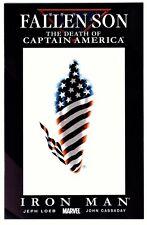 FALLEN SON:DEATH CAPTAIN AMERICA:IRON MAN #5(CIVIL WAR)CGC WORTHY(9.8)WOLVERINE1