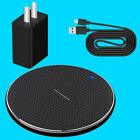 Wireless Charger Pad+Cable+USB Power Adapter for Samsung Galaxy Z Flip SM-F700U