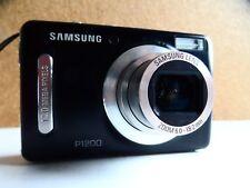 Samsung P1200 12.0MP Digital Camera - Black