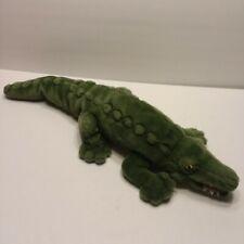 "Crocodile Plush 24"" Stuffed Animal Toy 2006 K & M International TOY Alligator"