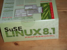 antikes SuSE Linux 8,1, in OVP, v.Fkt.