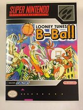 Looney Tunes B-Ball - Super Nintendo - Replacement Case - No Game