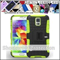 Etui Coque Housse Antichoc COMBO TYRE Shockproof Cover Case Samsung Galaxy S5