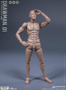 "DPS01: DAMTOYS ""DRAWMAN"" 1/12 scale 6 inch male base body"