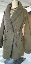 Scotch soda Woman's Jacket Coat, Size S/M Military Green