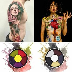 Face Paint Tattoo Body Paint Airbrush Oil Painting Halloween Party Fancy Makeup