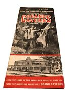 Grand Caverns Grottoes, Va Brochure from the 1950s Vintage Buried City Pamphlet