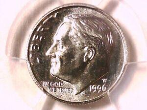 1996 W Roosevelt Dime PCGS MS 67 41490827