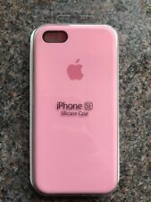 Apple iPhone 5 5s/SE Silicon Case Slim Great Handling Original Cover Pink