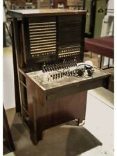 Telephone Switchboard Western Electric Antique Furniture Display Booth Phone EC