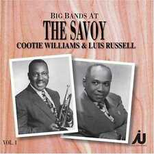 Cootie Williams & Luis Russell CD The Big Bands at the Savoy Vol 1 DENMARK RARE