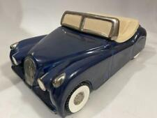 Automotive Cookie Jar Rare ACCJ 1986 Jaguar XK140 Roadster Convertible Navy NAC