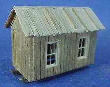 O SCALE /On3/On30 WISEMAN MODEL SERVICES LOGGING OR MINING CAMP 4 CABIN SET KIT