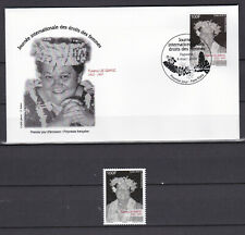 Polynesia 2020 polynesie Droit des femmes Women's rigths FDCs + stamps MNH**