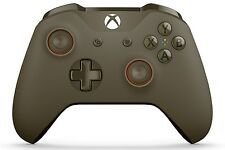 Green/Orange Xbox One S Rapid Fire Modded Controller, COD IW BO3, Destiny...
