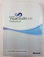 Visual Studio 2010 Professional Pro DVD inglés nuevo c5e-00521 MSDN Essentials