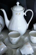 """ANCIENNE SERVICE A CAFE PORCELAINE DE BAVIERE Reichenbach MONOGRAMME """"M.B"""""""