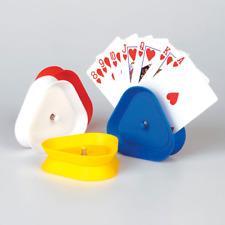 Kartenhalter Set 4 Stück Spielkartenhalter für Kinder und Senioren