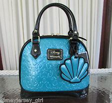 Disney Loungefly Ariel The Little Mermaid Dome Satchel Handbag Limited Ed LE NWT
