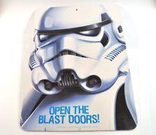 Star Wars USA Wandbild Tafel  Wall Sign - Stormtrooper Motiv