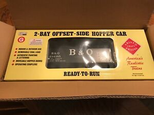 Aristocraft 41818B, G Scale, 2 Bay Offset Side Hopper Car, B&O, *NEW*