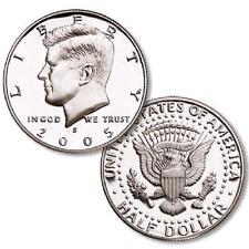 2005-S SILVER  PROOF KENNEDY HALF DOLLAR