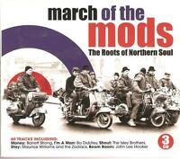MARCH OF THE MODS THE ROOTS OF NORTHERN SOUL - 3 CD BOX SET
