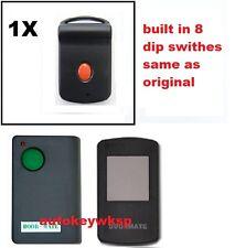 Doormate door-mate Garage Remote Control compatible with Door Mate 700t TRG107