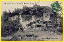 cpa 19 - NOAILLES (Corrèze) Les GROTTES de LAMOUROUX près de BRIVE Cavité Roche