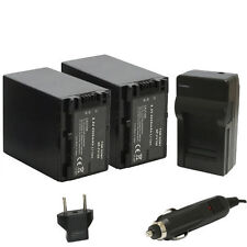 (2X) Opteka NP-FV100 4500mAh Li-ion Batteries with Charger for Sony Camcorders