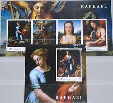 Tuvalu 2012 Raphael Raffael arte tipo painter pintor pinturas pinturas mnh