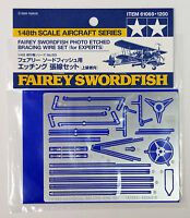 Tamiya 61069 Fairey Swordfish Photo Etched Bracing Wire 1/48 scale kit