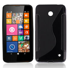 Fashion S-line Rubber Soft TPU Case GEL Cover for Nokia LUMIA 630 635 Stylish
