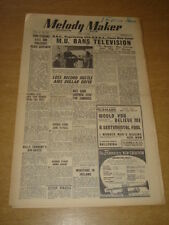 MELODY MAKER 1948 APRIL 3 MUSICIANS UNION BANS TELEVISION BBC JOE LOSS +