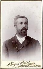 CDV photo Herrenportrait - Bremen um 1900