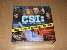 CSI 750 Piece Jigsaw Puzzle 'Dead Heat'  **New & Sealed**