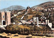 BR29673 Rochemaure pont sur le rhone et vue generale sur le vieux chateau france