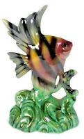 Porcelain Fish Sculpture, H. Bequet Quaregnon, Belgium