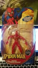 Iron Spiderman CLEAR VARIANT Super Hero Super Villains Marvel Legends 1/12 6 New
