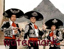 """Chevy Chase, Steve Martin and Martin Short in """"The Three Amigos"""" PUBLICITY PHOTO"""